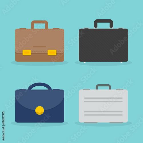 Photo Set: briefcase illustration
