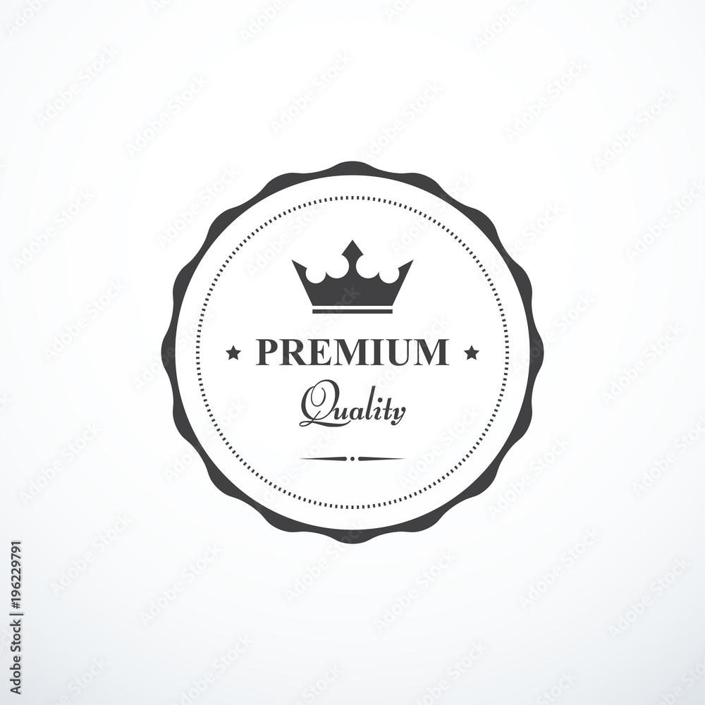 Fototapeta Vector premium quality badge