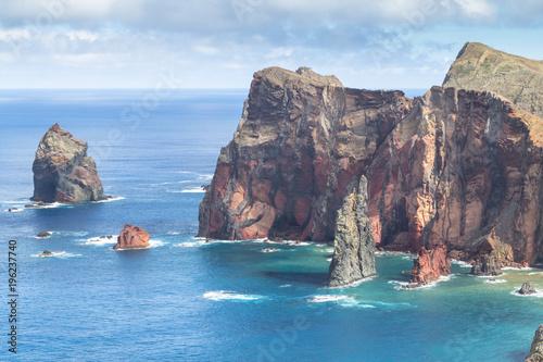 Cote North coast of Ponta de Sao Lourenco, Madeira, Portugal