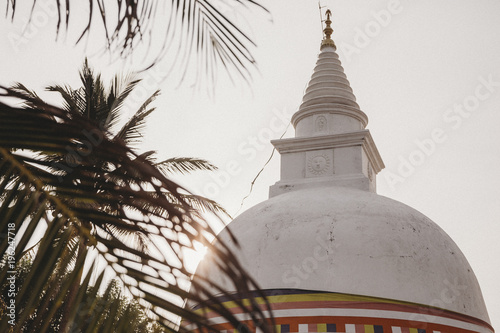Spoed Foto op Canvas Bedehuis Spirit of Sri Lanka