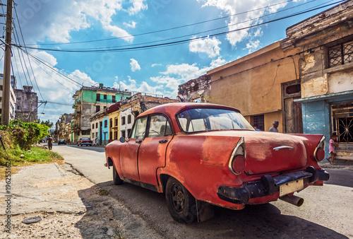 fototapeta na ścianę Oldtimer in Kuba