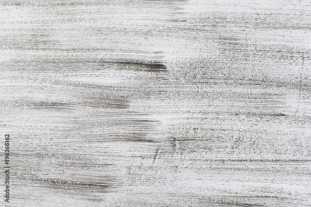 Fototapeta Black and white light wood texture, Grunge texture. Abstract wallpaper texture background