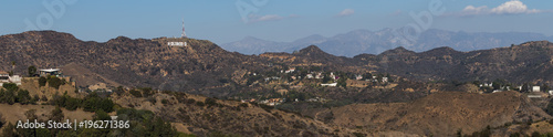 Photo  View of Los Angeles from Runyon Canyon Trail
