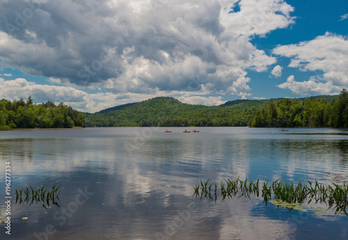 Fotografie, Obraz  Putnam Pond in Adirondack Mountains, NY