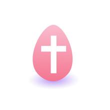 Painter Easter Egg Icon Isolat...