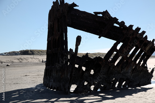 Shipwreck Wreck of the Peter Iredale