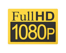 Full HD 1080p Icon Isolated