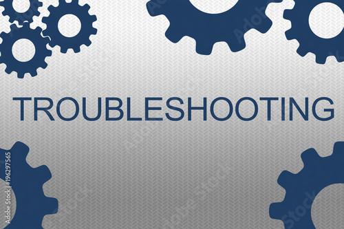 Fotografía TROUBLESHOOTING - professional concept
