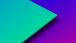 Leinwanddruck Bild - Abstract 3d rendering of a surface with gradient. Modern geometric background. Minimalistic design for poster, cover, branding, banner, placard.