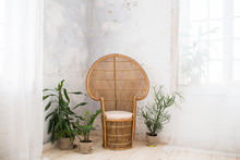 Wicker Doll Chair And A Lot Of...