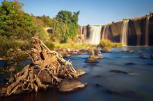 Scenic Summer Landscape With The Dray Nur Waterfall In Dak Lak Province (Daklak), Vietnam.