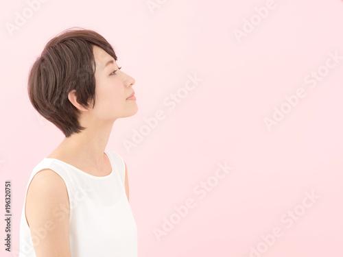 Fotografía  女性・ピンクバック