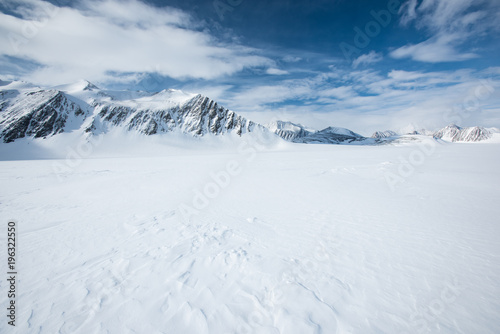 Spoed Foto op Canvas Antarctica Mt Vinson, Sentinel Range, Ellsworth Mountains, Antarctica