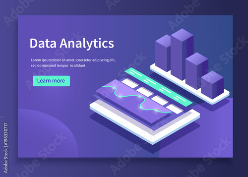 Cuadros en Lienzo data analytics