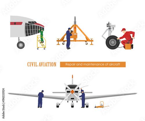 Amazing Repair And Maintenance Of Aircraft Engineers Repairing Airplane Wiring Digital Resources Remcakbiperorg