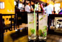 Mojito Cocktail In A Bar In Cu...
