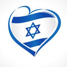 Love Israel, Heart Emblem Nati...