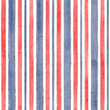 Stripe Watercolor Seamless Pattern Background