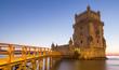 canvas print picture - Turm von Belem Lissabon Portugal