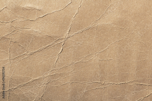 Fotografia, Obraz  texture of cardboard with bends,crumpled paper