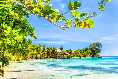 Photo Belize, a tropical paradise in Central America.