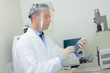 Laboratory Technician Working ...