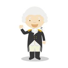 George Washington Cartoon Char...