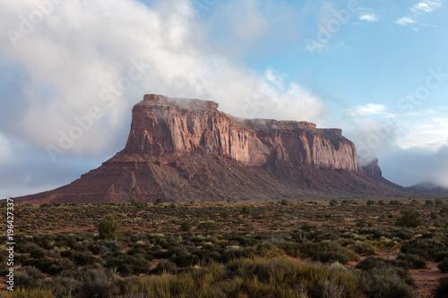 Fotografie, Obraz  cloudy mesa