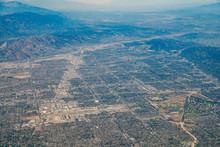 Aerial View Of Van Nuys, Sherman Oaks, North Hollywood, Studio City