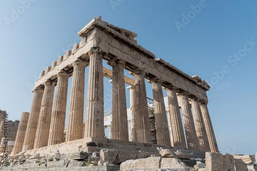 Canvas Prints Athens Corner of the Parthenon in Athens, Greece