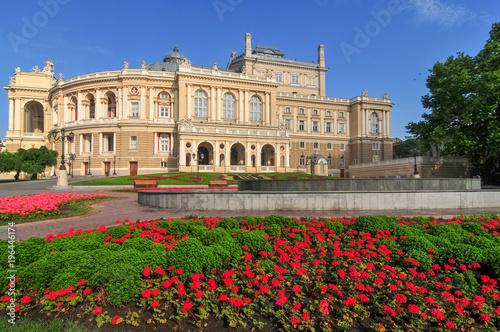 Spoed Foto op Canvas Theater Odessa National Academic Theater - Odessa, Ukraine