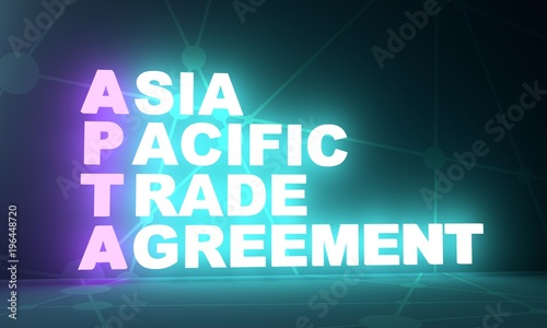 Acronym Apta Asia Pacific Trade Agreement Business Conceptual