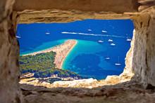Zlatni Rat Beach Aerial View T...