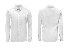 White Color Formal Shirt With ...