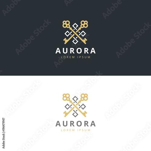 Fotografía  Real estate logotype