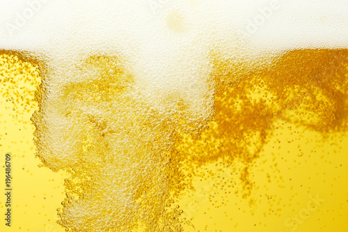 Fotografía  ビールのクローズアップ