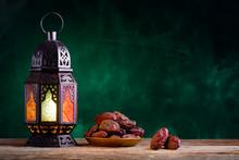 Ramadan Concept. Dates Close-u...