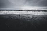 moody ocean tide