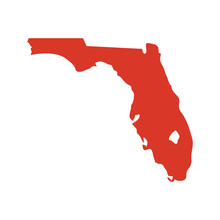 State Of Florida Vector Map Si...