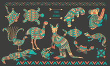 Australian Stylized Animals Se...