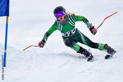 Alpine Ski Racer
