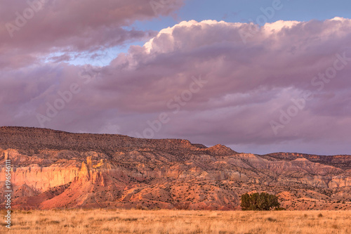 Tuinposter Purper Ghost Ranch