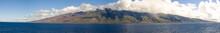 Molokai Island Seen From The Ocean