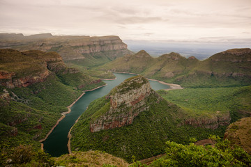 The beautiful Blyde River Canyon in Mpumalanga, South Africa - one of Africa's Natural Wonders