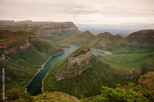 Foto op Plexiglas Canyon The beautiful Blyde River Canyon in Mpumalanga, South Africa - one of Africa's Natural Wonders