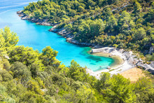 Island Of Brac In Croatia, Europe. Beautiful Place.