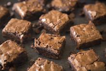 Homemade Gooey Double Chocolat...