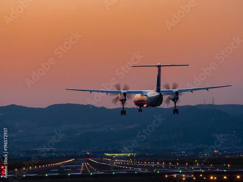 大阪国際空港へ Fototapet