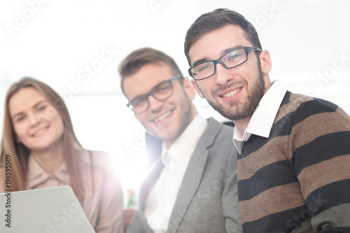 Fototapety, obrazy: closeup.group of business people