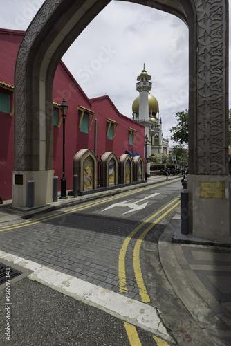 Photo  Masjid Sultan, Arab Street, Singapore